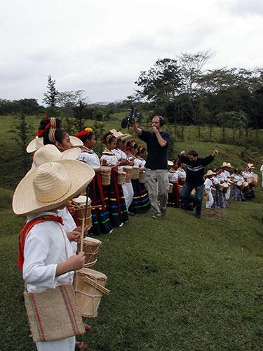 diminutos de calvario #4, La Jagua, Tabasco, enero de 2003