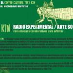Se convoca a todos aquellos interesados en el radio y las prácticas artísticas experimentales.